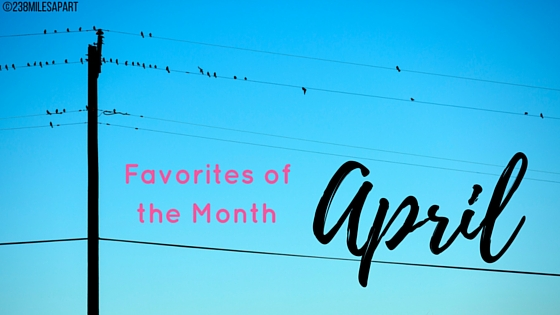 April Favorites of the Month (1)