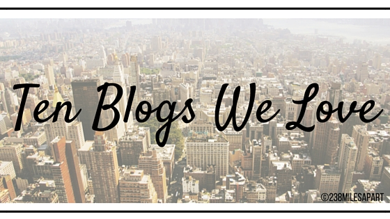 Ten Blogs We Love (1)