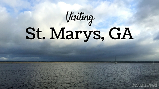 Visiting St. Marys. GA